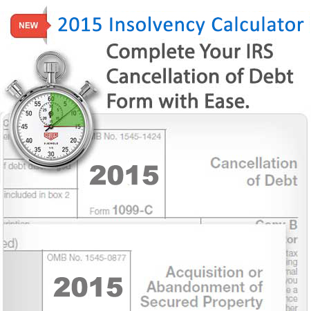 Worksheet Form 982 Worksheet form 982 insolvency calculator zipdebt debt relief calculator